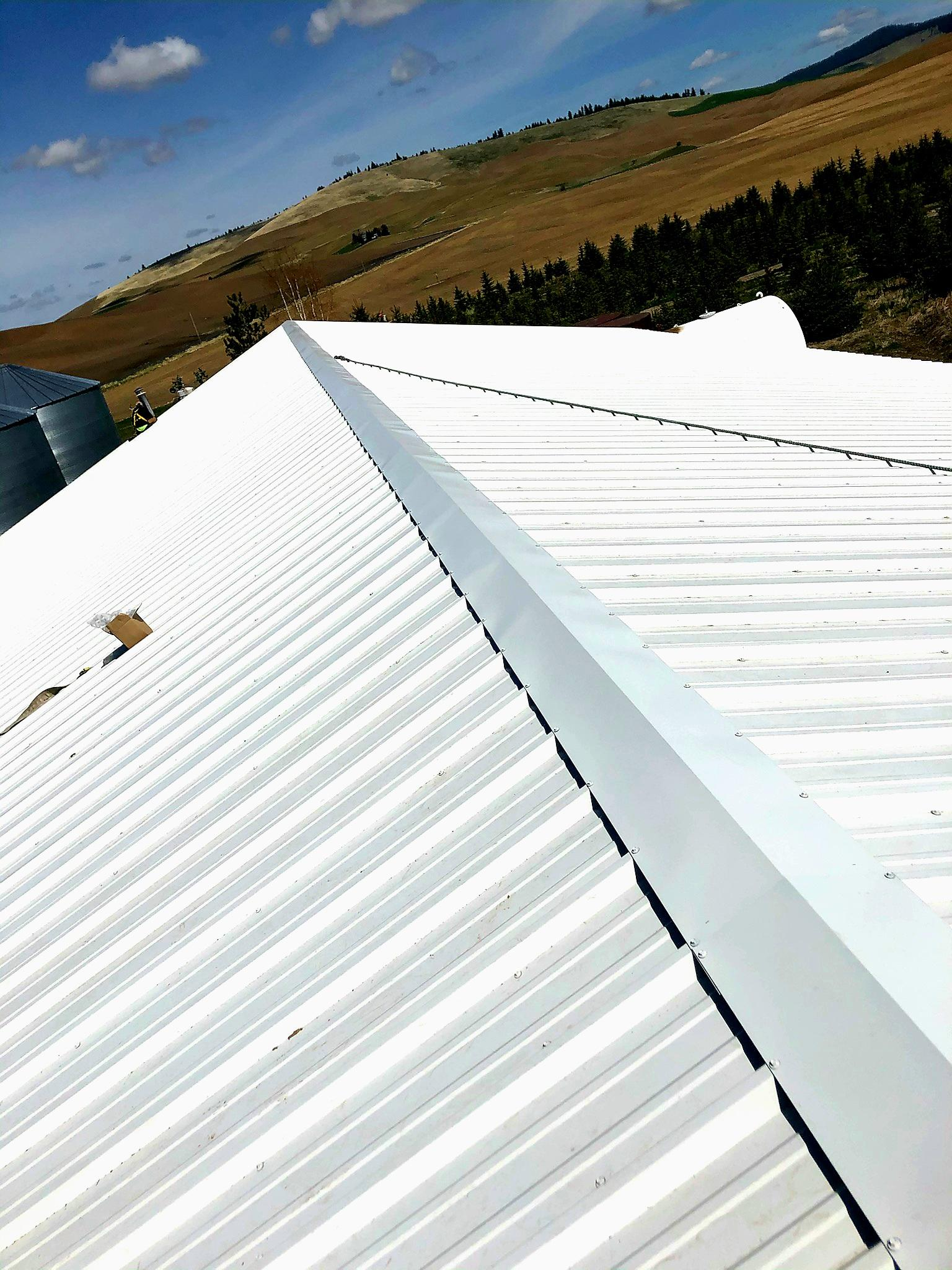 A beautiful roof that fluid Roofing installed